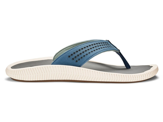 OluKai Ulele Sandals Men slate blue/charcoal